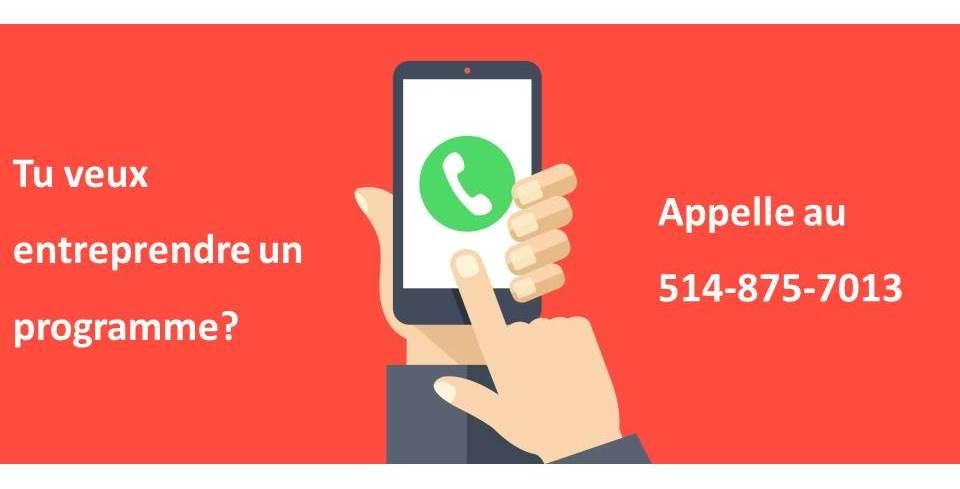 Appelez-nous au 514-875-7013